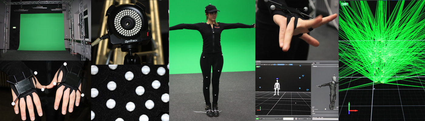 Impressions from Mocap Studio TH Köln